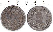 Изображение Монеты Австрия 20 крейцеров 1810 Серебро