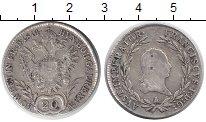 Изображение Монеты Австрия 20 крейцеров 1814 Серебро VF