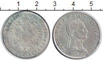 Изображение Монеты Австрия 20 крейцеров 1832 Серебро XF Франциск I.