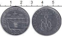 Изображение Монеты Италия 100 лир 1981 Медно-никель XF 100 - летие Морской