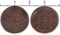 Изображение Монеты Аугсбург 1 пфенниг 1797 Медь VF