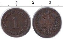 Изображение Монеты Германия 1 пфенниг 1900 Медь VF E