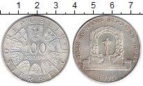 Изображение Монеты Австрия 100 шиллингов 1975 Серебро UNC- 150 лет со дня рожде