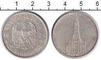 Изображение Монеты Третий Рейх 5 марок 1934 Серебро XF E