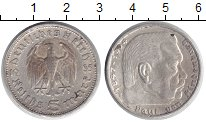 Изображение Монеты Третий Рейх 5 марок 1935 Серебро XF E