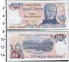 Изображение Боны Аргентина 100 песо 0  UNC-