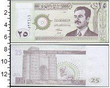 Изображение Банкноты Ирак 25 динар 2001  UNC-