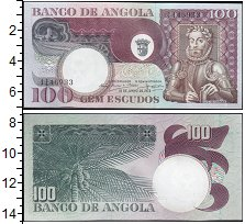 """Изображение Боны Ангола 100 эскудо 1973  XF <span style=""""font-si"""