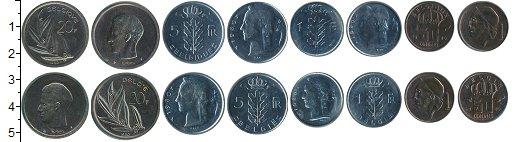 Изображение Наборы монет Бельгия Бельгия 1980 1980  UNC- В наборе 8 монет ном