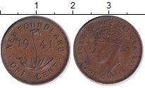 Изображение Монеты Канада Ньюфаундленд 1 цент 1941 Медь XF