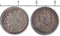 Изображение Монеты Канада 5 центов 1907 Серебро