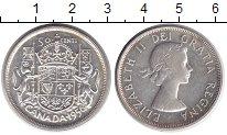 Изображение Монеты Канада 50 центов 1956 Серебро XF Елизавета II