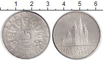 Изображение Монеты Австрия 25 шиллингов 1957 Серебро XF