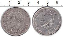 Изображение Монеты Панама 1/2 бальбоа 1962 Серебро XF