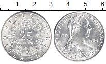 Изображение Монеты Австрия 25 шиллингов 1967 Серебро XF М.Терезия