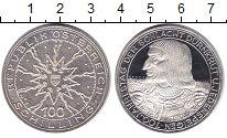 Изображение Монеты Австрия 100 шиллингов 1978 Серебро Proof- Рудольф I. 700 - лет