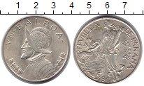 Изображение Монеты Панама 1 бальбоа 1947 Серебро XF