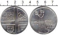 Изображение Монеты Венгрия 200 форинтов 1977 Серебро UNC- Художник Джозеф Рипл