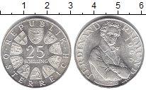 Изображение Монеты Австрия 25 шиллингов 1966 Серебро UNC- Фердинанд Раймунд