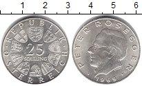 Изображение Монеты Австрия 25 шиллингов 1969 Серебро UNC-