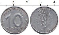 Изображение Монеты ГДР 10 пфеннигов 1950 Алюминий VF А