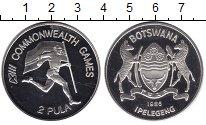 Изображение Монеты Ботсвана 2 пула 1986 Серебро Proof