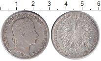 Изображение Монеты Австрия 1 флорин 1858 Серебро VF