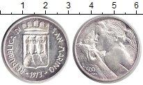 Изображение Монеты Сан-Марино 500 лир 1973 Серебро UNC-