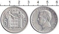Изображение Монеты Монако 5 франков 1966 Серебро UNC