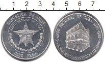 Изображение Монеты Куба 10 песо 1975 Серебро UNC