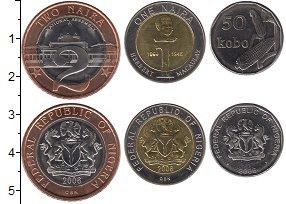 Изображение Наборы монет Нигерия Нигерия 2006 2006  AUNC В наборе 3 монеты но