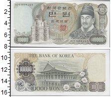 Изображение Банкноты Корея 10000 вон 1983  XF