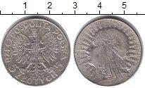 Изображение Монеты Польша 5 злотых 1933 Серебро XF