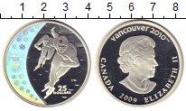 Изображение Монеты Канада 25 долларов 2009 Серебро Proof- Елизавета II. Конько