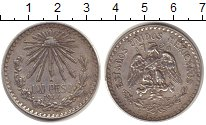 Изображение Монеты Мексика Мексика 1944 Серебро XF