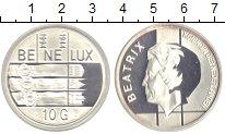 Изображение Монеты Бельгия 10 гульденов 1994 Серебро Proof
