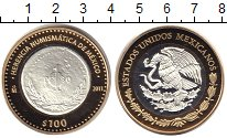 Изображение Монеты Мексика 100 песо 2011 Биметалл