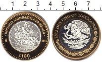 Изображение Монеты Мексика 100 песо 2011 Биметалл Proof