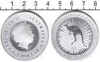 Изображение Мелочь Австралия 1 доллар 2016 Серебро UNC