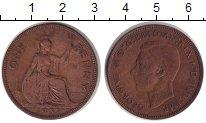 Изображение Монеты Великобритания 1 пенни 1937 Медь VF