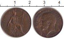 Изображение Монеты Великобритания 1 фартинг 1924 Медь XF