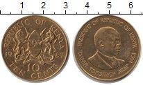 Изображение Монеты Кения 10 центов 1987  XF