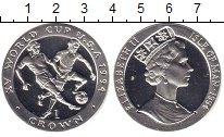Изображение Монеты Остров Мэн 1 крона 1994 Серебро Proof