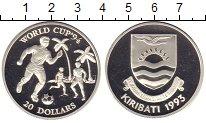 Изображение Монеты Кирибати 20 долларов 1993 Серебро Proof Чемпионат мира по фу