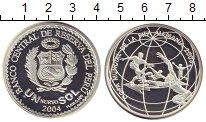 Изображение Монеты Перу 1 соль 2006 Серебро Proof