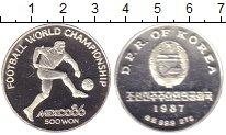 Изображение Монеты Северная Корея 500 вон 1987 Серебро Proof