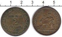 Изображение Монеты Франция 2 франка 1925 Медь XF