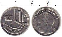 Изображение Монеты Бельгия 1 франк 1989 Медно-никель UNC-