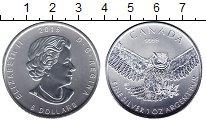 Изображение Мелочь Канада 5 долларов 2015 Серебро UNC