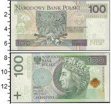 Изображение Банкноты Польша 100 злотых 0  UNC
